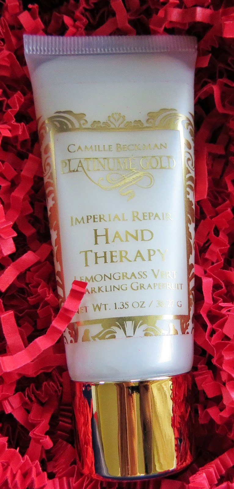 Camille Beckman Platinume Gold Imperial Repair Hand Therapy