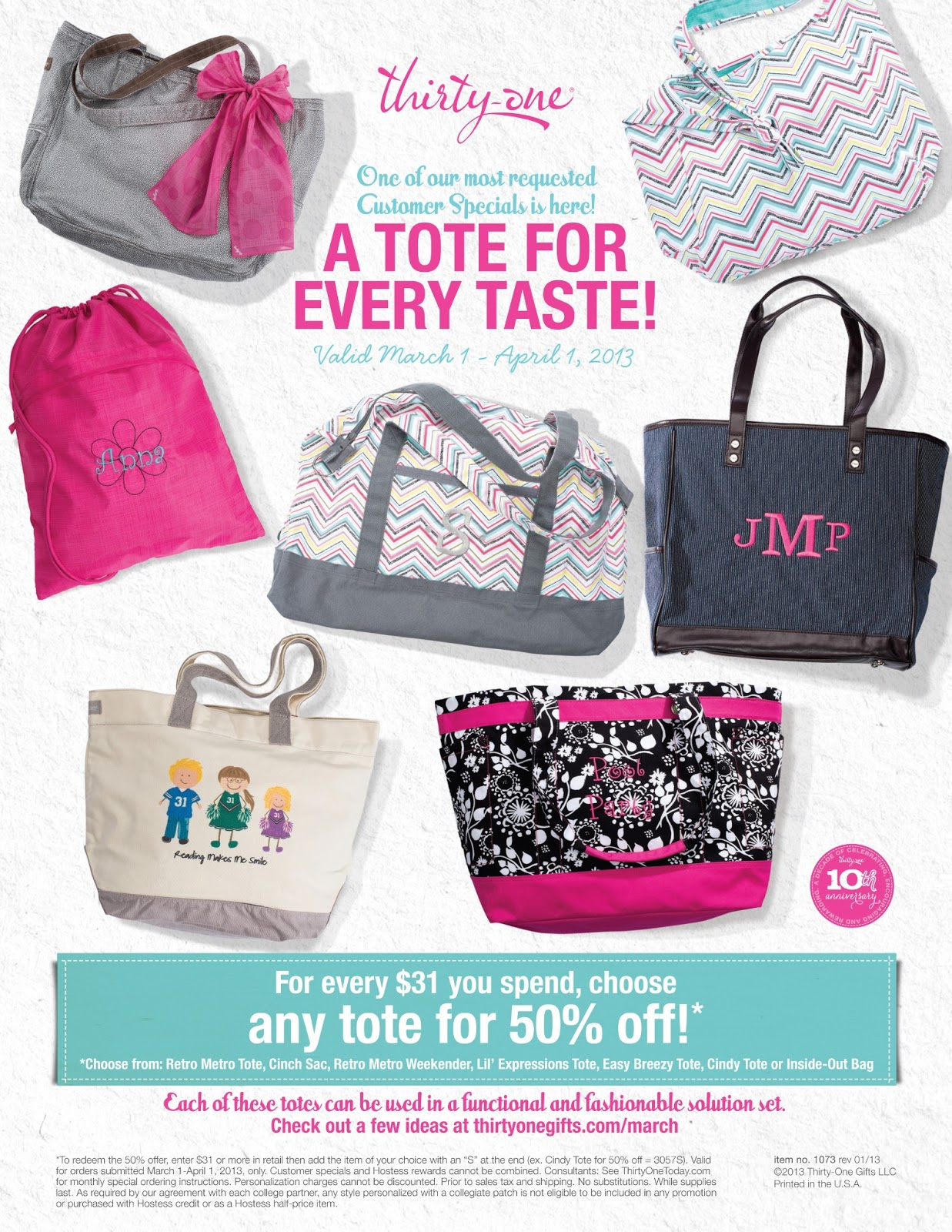 Thirty-One Easy Breezy Tote