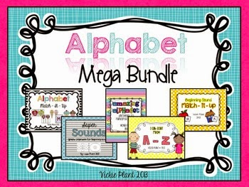 http://www.teacherspayteachers.com/Product/Alphabet-Mega-Bundle-812379