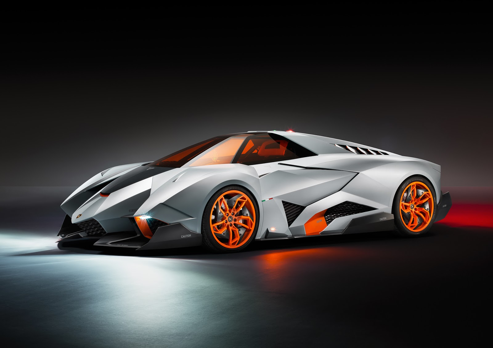 Foto Mobil Keren Lamborghini Egoista Front Side View