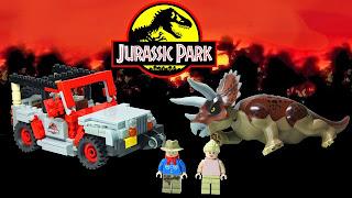 Jurassic Park dinosaurs Lego