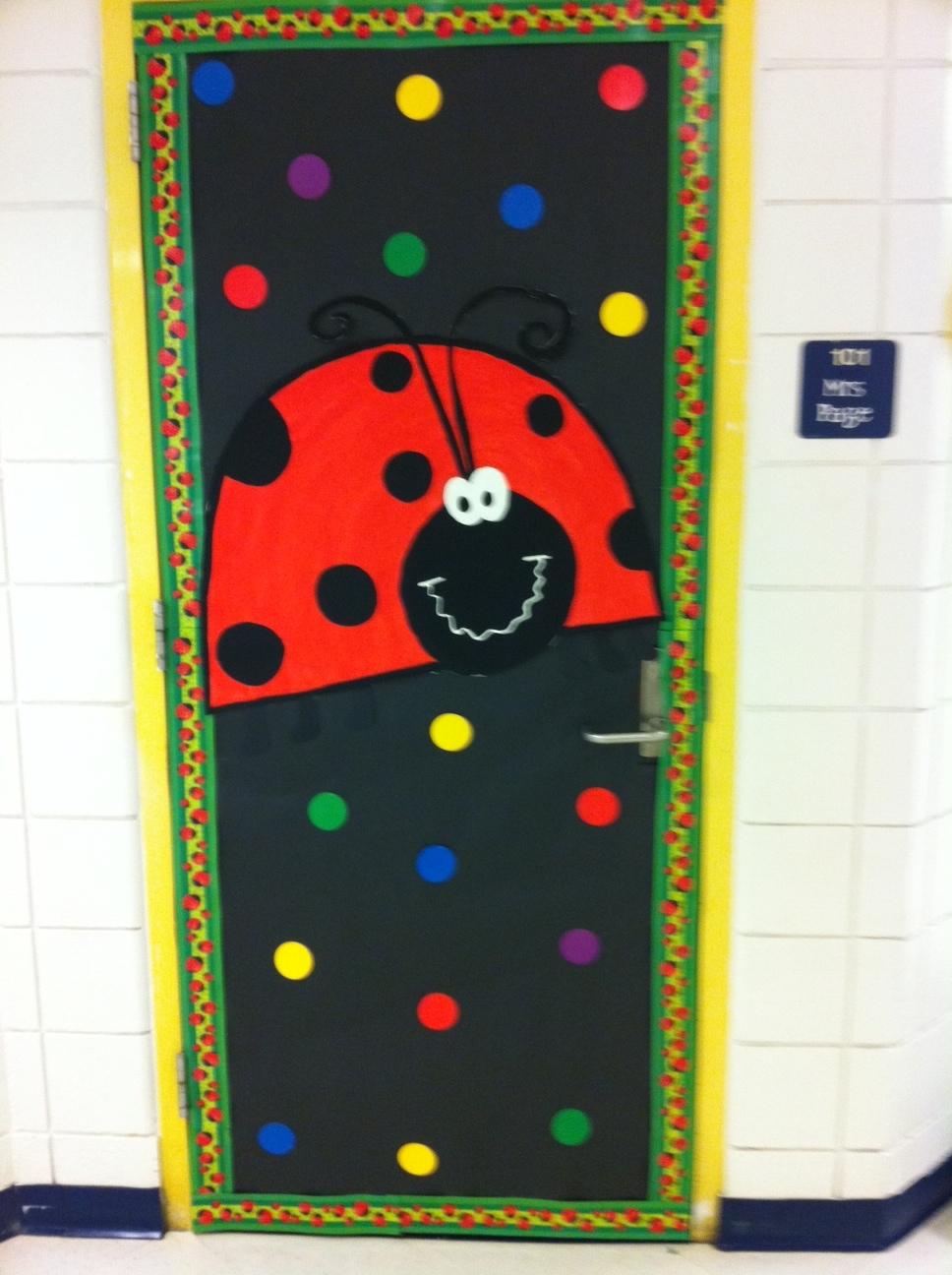Ladybug Classroom Decoration Ideas ~ Kindergarten cupcake crumbs look who s been spotted
