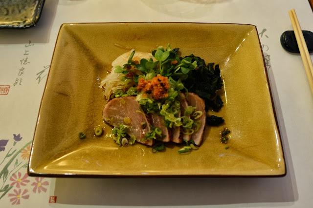 Restaurant Morikawa Den Haag sashimi