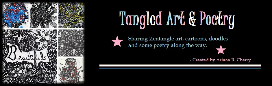Tangled Art and Poetry: Original Zentangle Artwork and Poetry.