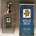 Where did Kings Men get the band name from - Kings Men cologne bottle