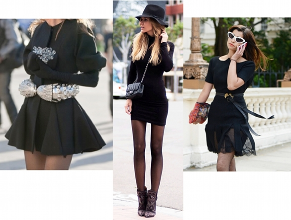 moda tendencias color negro