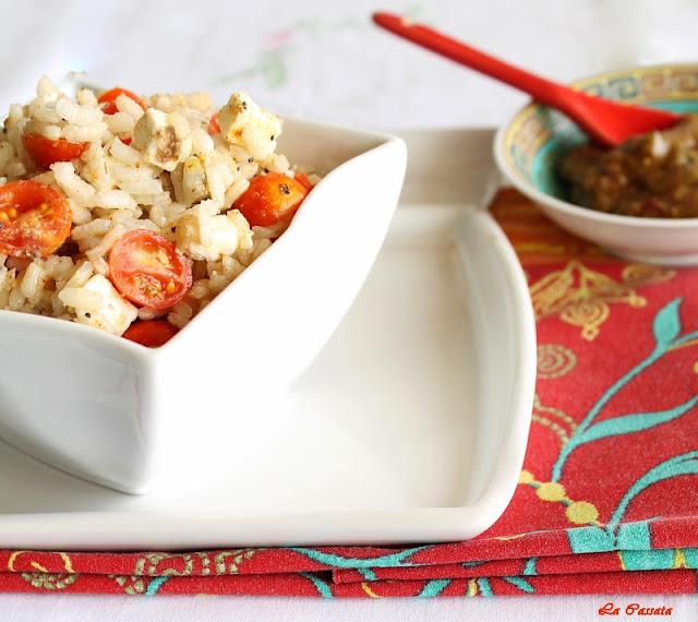 insalata di riso, ma non la solita insalata!