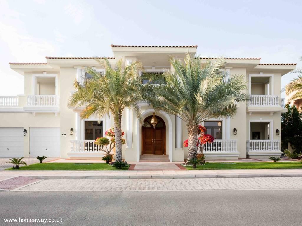 arquitectura de casas villa ornamentada tradicional y moderna en dubai. Black Bedroom Furniture Sets. Home Design Ideas