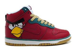high nike sb dunks orange birds