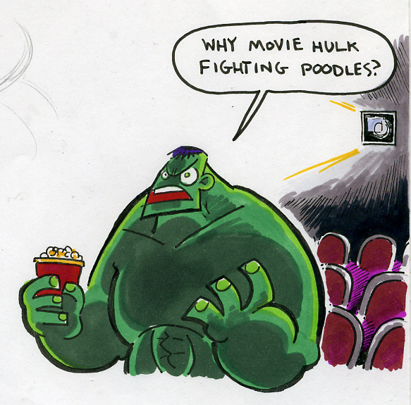 Hulk at the Movies por Mr-DNA