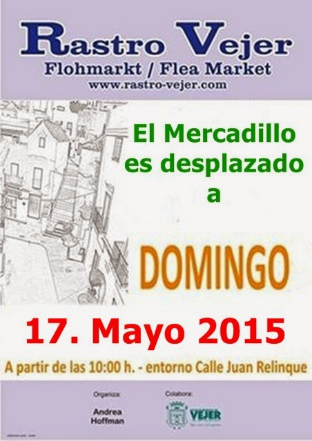 anda luz flohmarkt in vejer am 10 mai wird verschoben. Black Bedroom Furniture Sets. Home Design Ideas