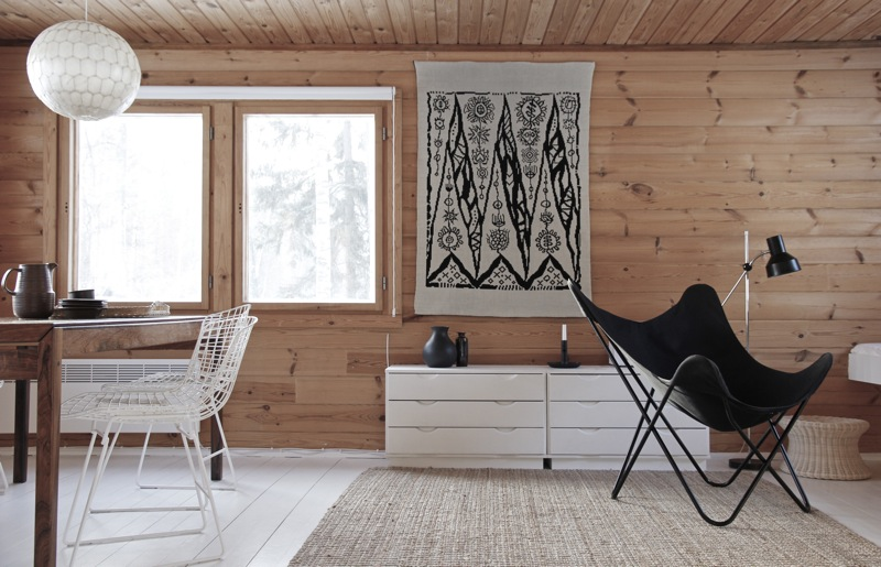 my scandinavian home a beautifully renovated finnish cabin. Black Bedroom Furniture Sets. Home Design Ideas