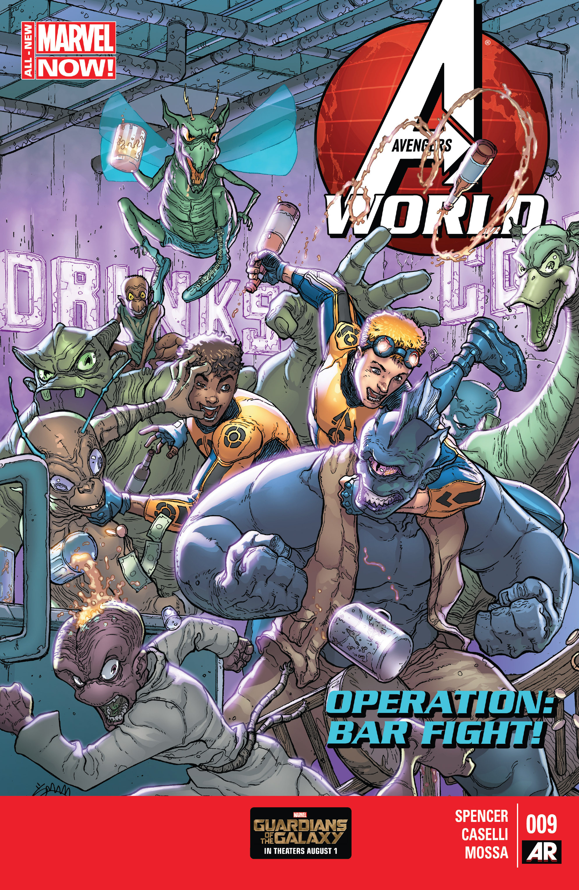 Avengers World 9 Page 1