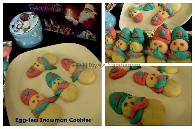 American Snowman Butter Cookies