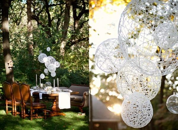 Eco Wedding Decoração