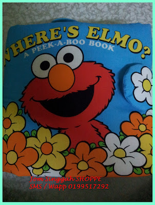 Softbook Elmo - Cover Depan