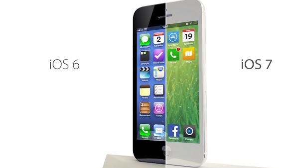 iOS7 con más funciones tomadas de Android