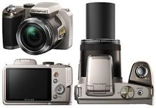 Olympus digital camera, olympus SP zoom