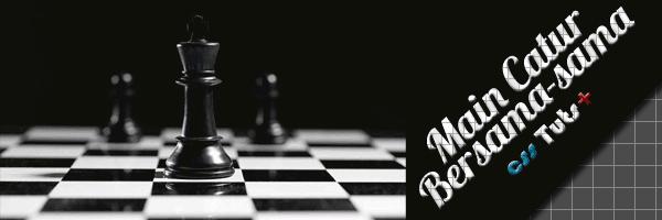 membuat papan catur dengan css