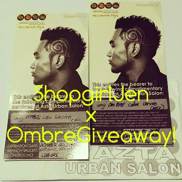 Discover Ombre Giveaway