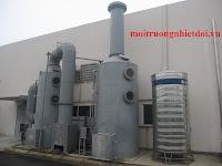 Hệ thống xử lý khí thải nồi hơi công nghiệp