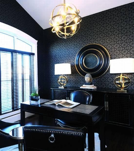 Hayancafe solid black for Black interior designers