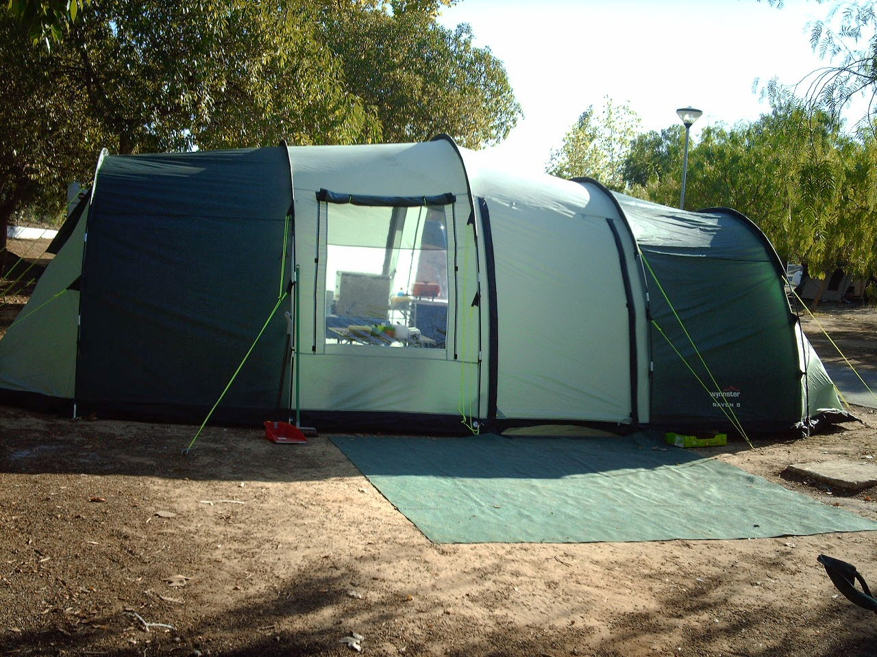 A Wynnster Raven 8 tunnel tent in good condition only used twice since purchase in 2010. In good condition it has 4 double bedrooms and a large central ... & Digame: For Sale - Tunnel Tent