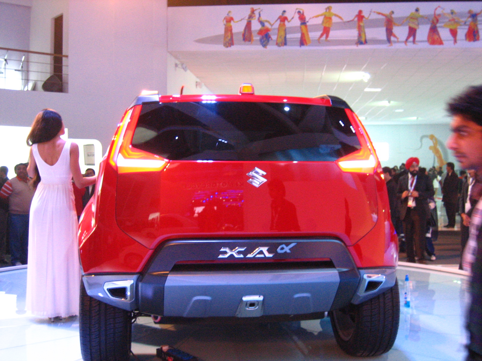 Carnation Auto Blog: A Peek At XA Alpha U2013 The New Concept Compact SUV From  Maruti Suzuki India