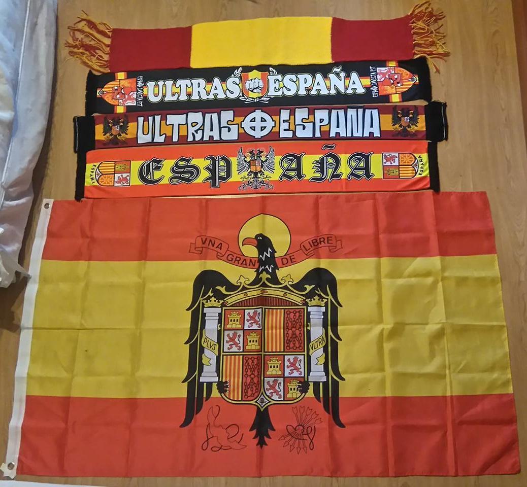 Mi Colección de Bufandas y bandera - Parte 7