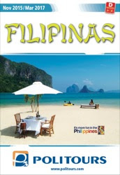 Catálogo de viajes de la mayorista Politours Filipinas