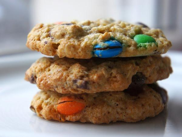 REZEPT: glutenfreie M&M Cookies
