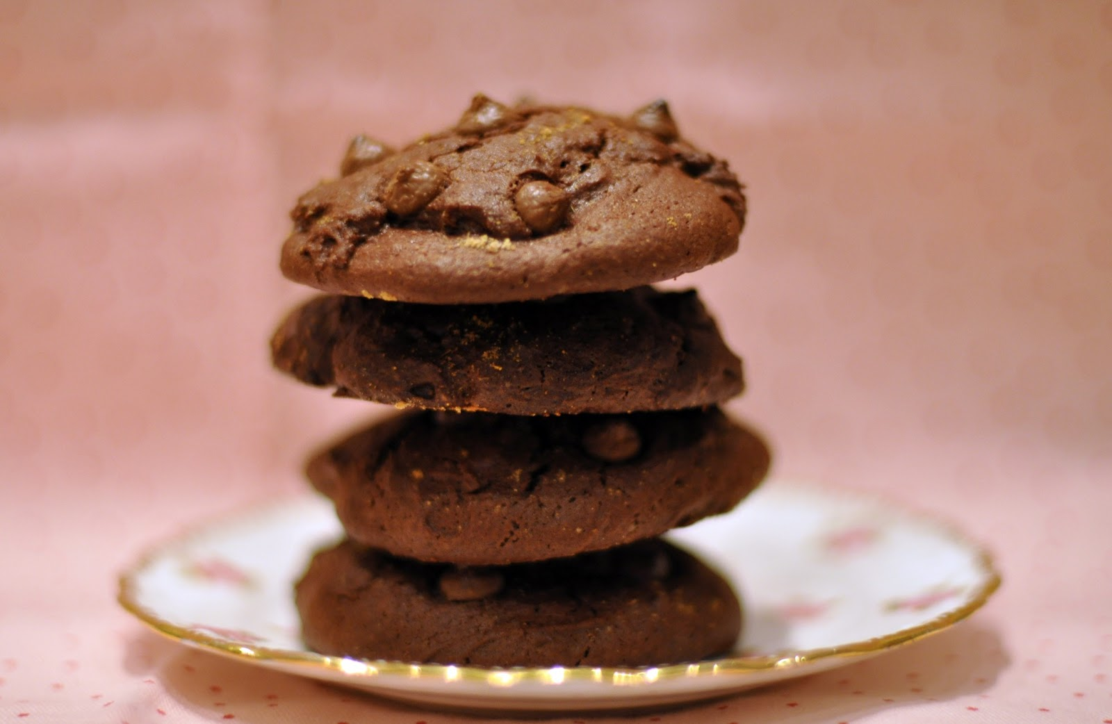 Chocolate & Ginger Cookies | Sophie Loves Food