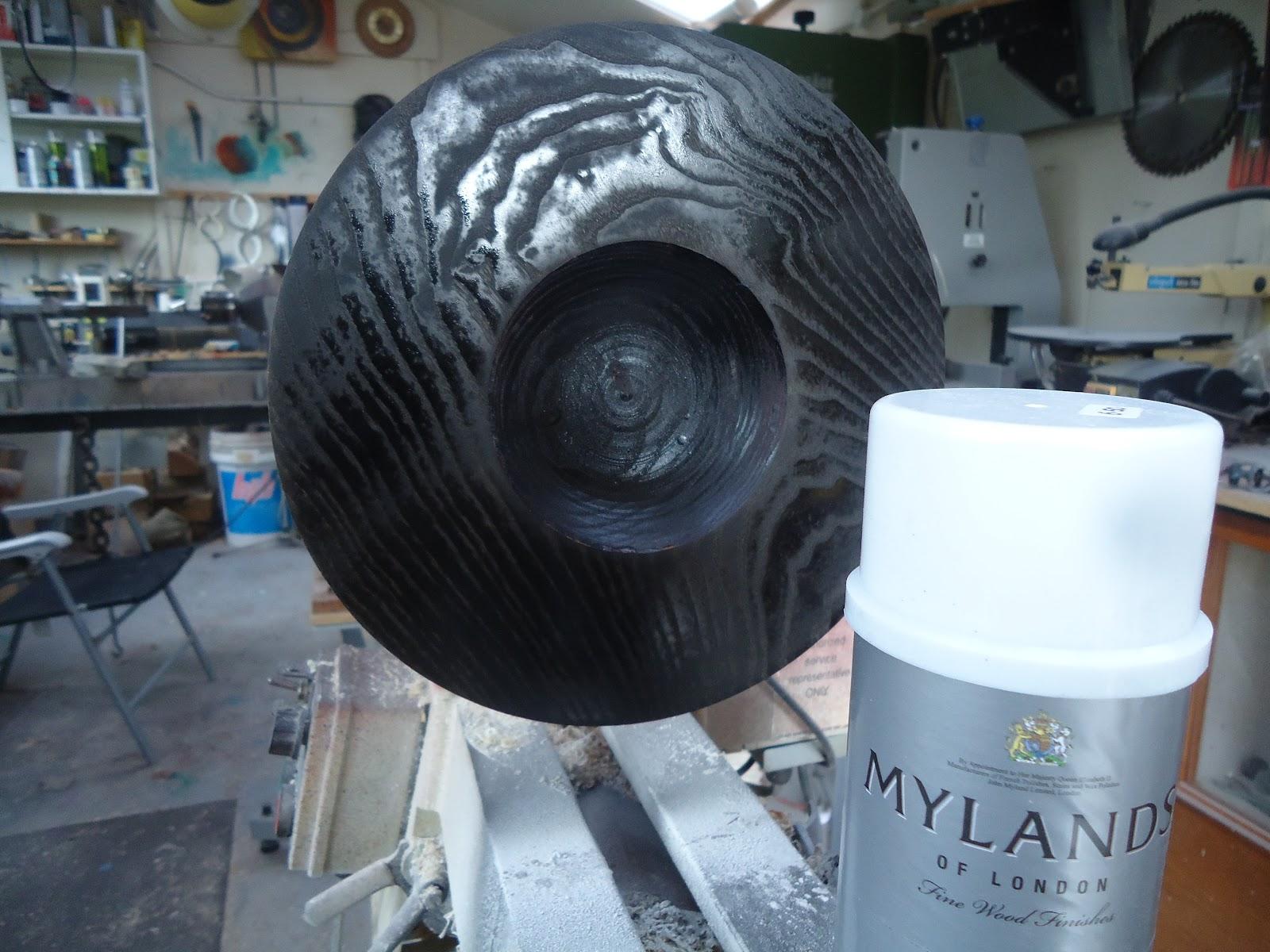 Ebonising Wood With Paint