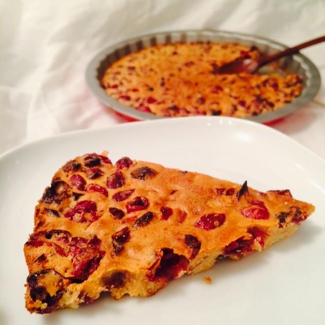 Thanksgiving Healthy Fresh Cranberry Pie Recipe