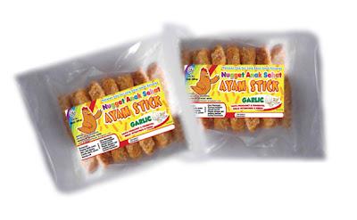 Nugget Ayam Stick Garlic- Anak Sehat Foods