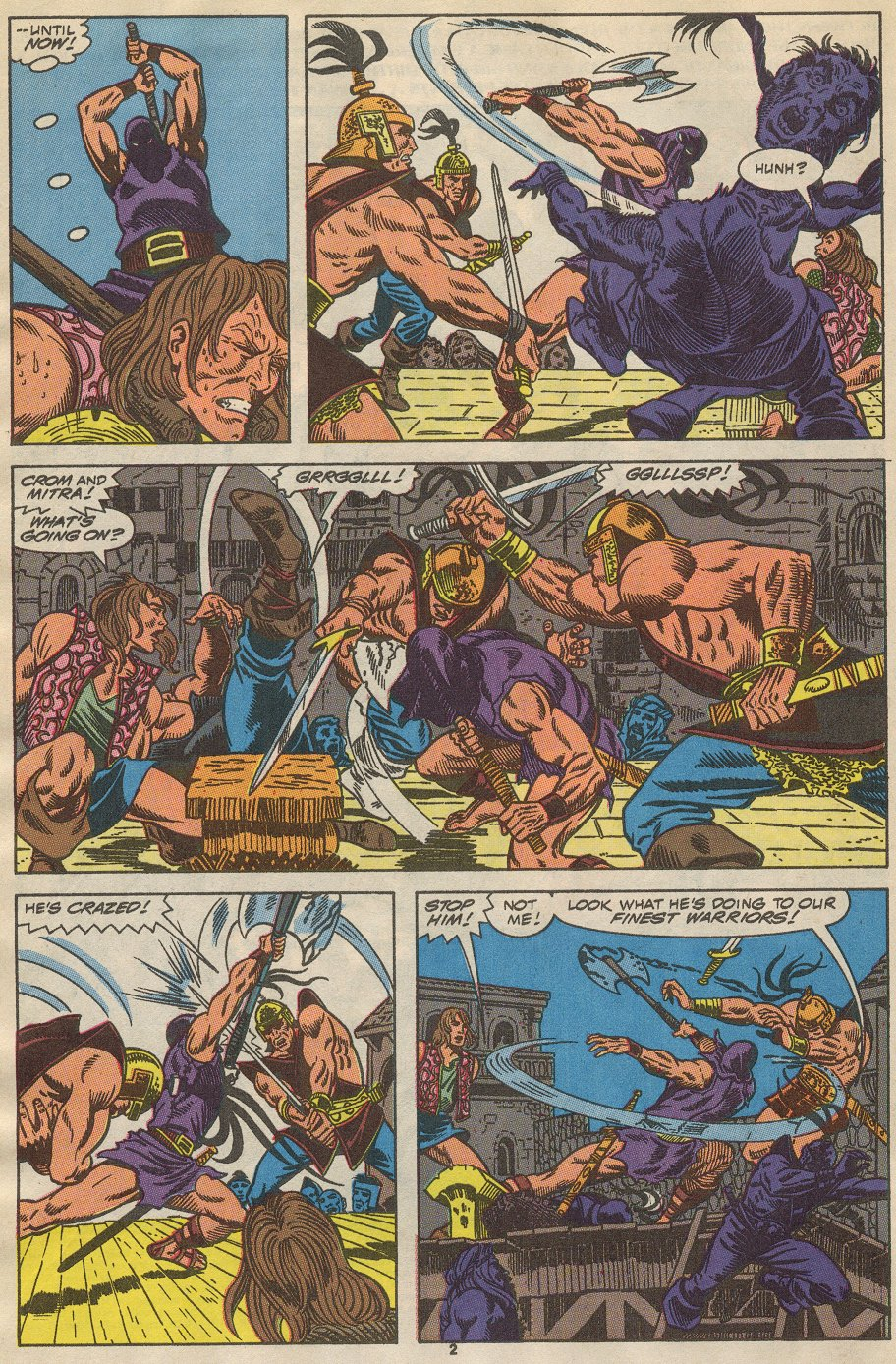 Conan the Barbarian (1970) Issue #237 #249 - English 3