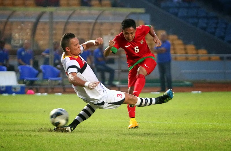 Evan Dimas Cetak Gol
