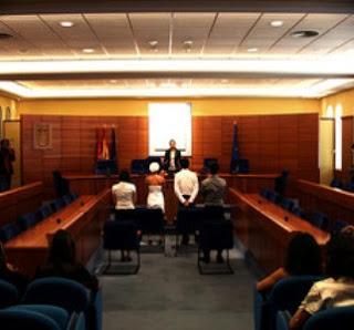 Oposiciones a jueces. Funcionarios judicatura