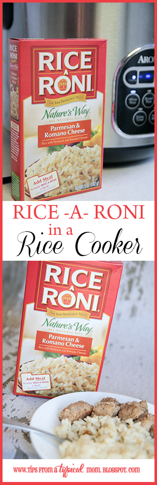 How to cook rice a roni in a rice cooker tips from a typical mom rice a roni is one of those awesome side dishes that doesnt make you think very much especially when you can cook it in a rice cooker ccuart Image collections