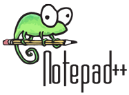 Powered by Notepad++