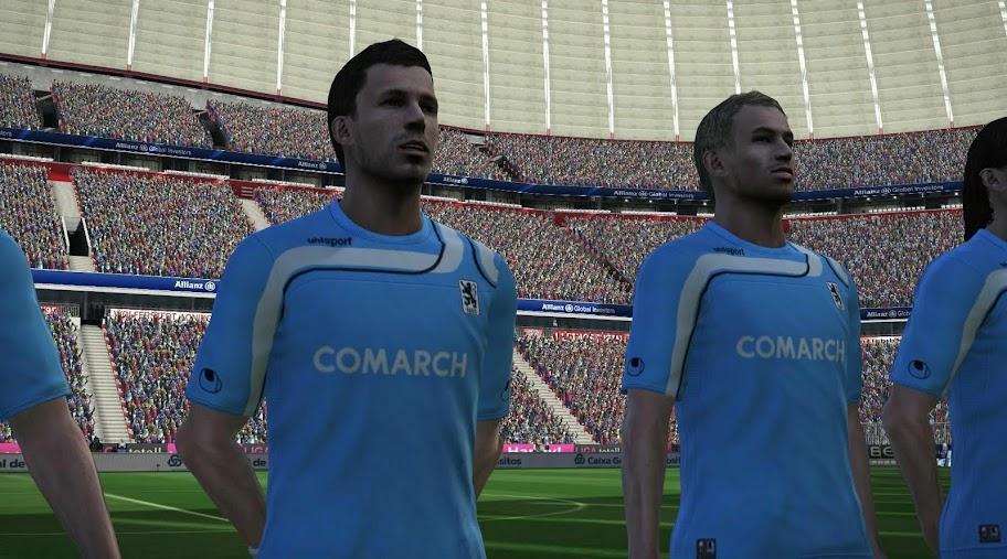 1860 München 11-12 Player Kits by thorondor