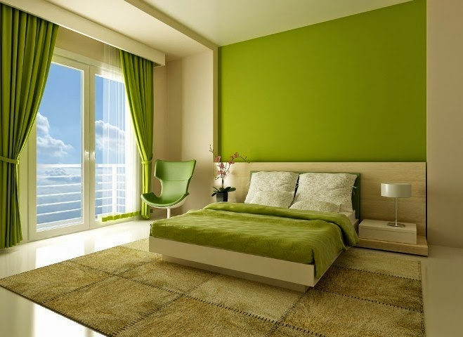 Wall Paint Colour Combination For Bedroom