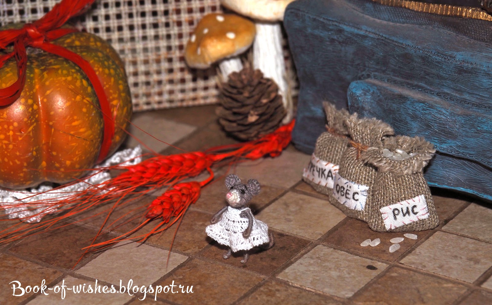 the house of crochet mouse