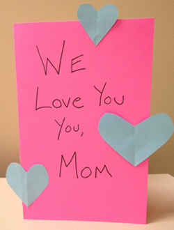 the 10 rules of making a valentines day card for mom - Valentines Day Card For Mom