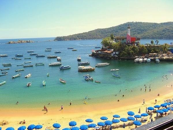 Increíbles playas en Acapulco, México