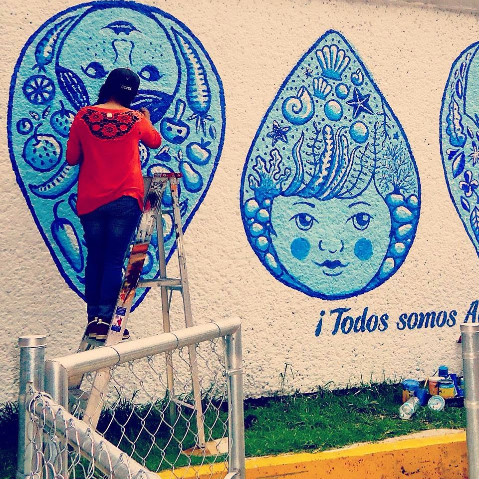 Mural todos somos agua for Avisos de ocasion el mural