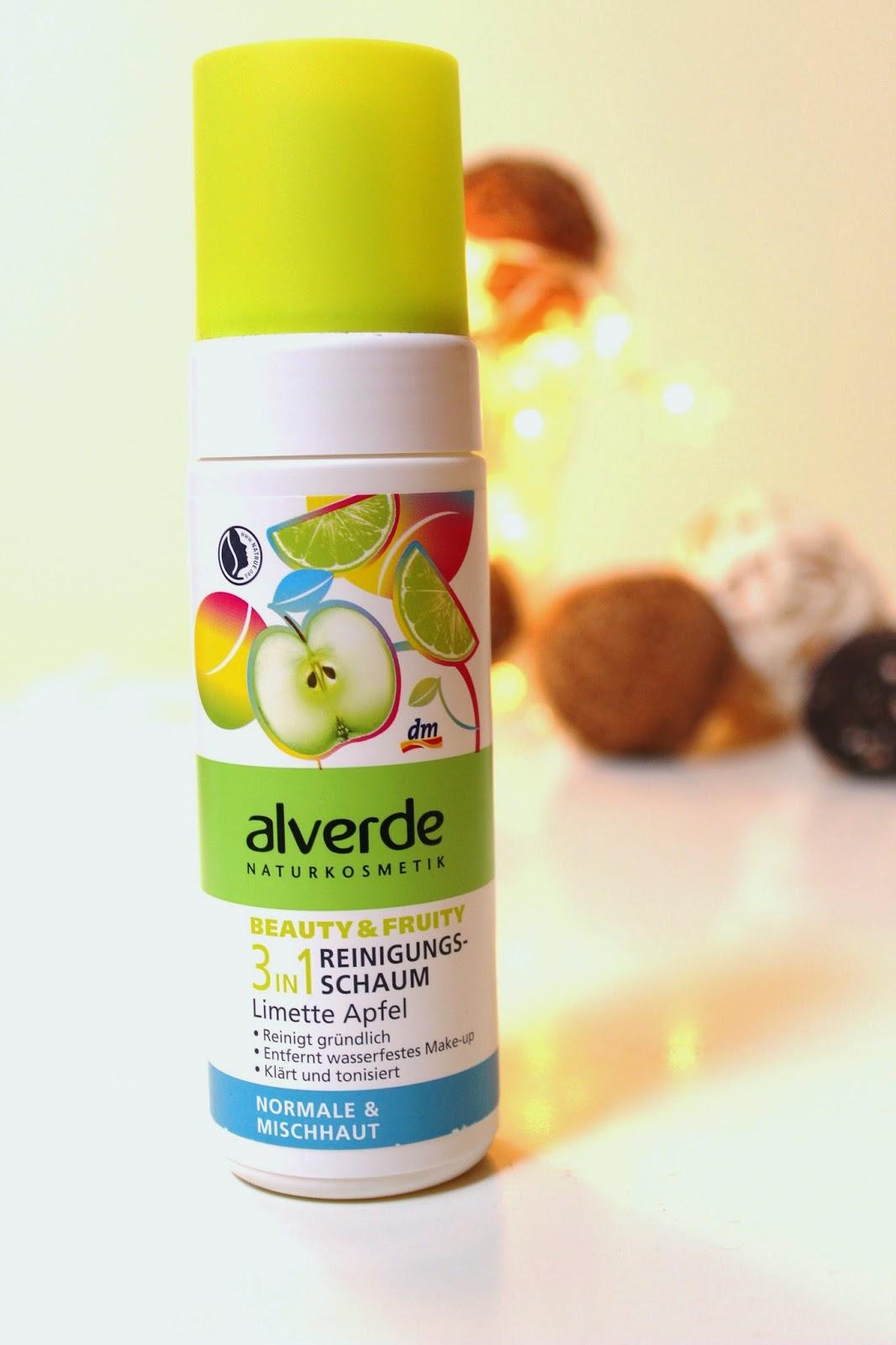 Pianka do mycia twarzy Alverde
