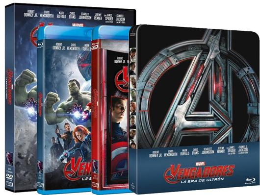 Concurso 'Marvel Vengadores: La era de Ultrón': Tenemos DVDs de la película para vosotros