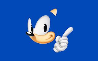 Sonic The Hedgehog Blue Minimal HD Wallpaper