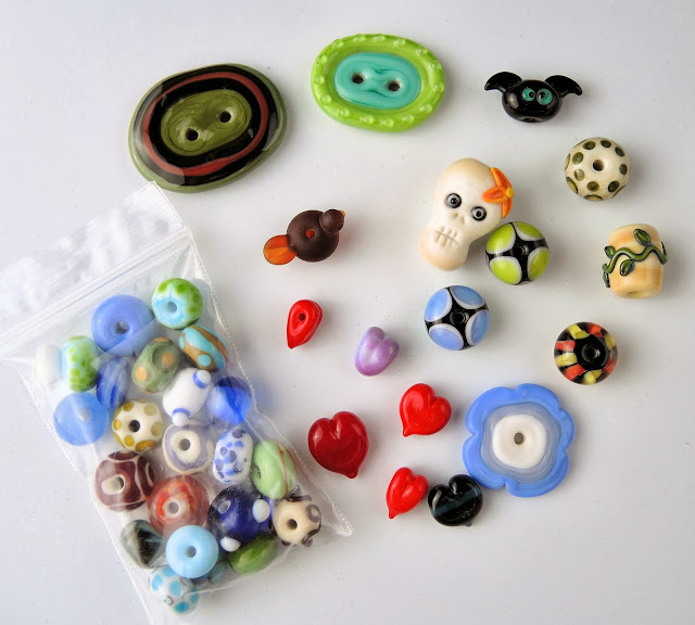 Lampwork from Chris Haussler of Pixybug Designs